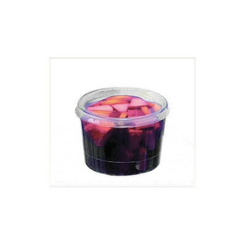 Verrine jetable Bodega couleur cristal