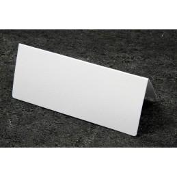 Etiquette marque place papier ivoire