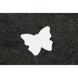 Marque place étiquette papillon