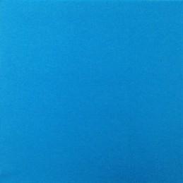 Serviette jetable double pointe 38cm par 40 turquoise