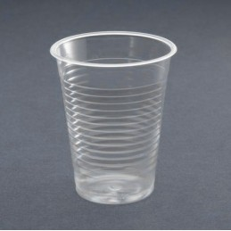 Gobelet plastique transparent 20cl par 100
