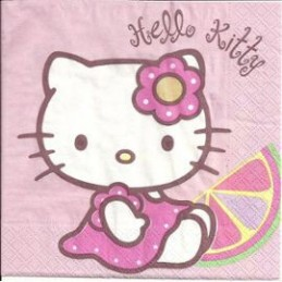Serviette en papier Hello Kitty par 20