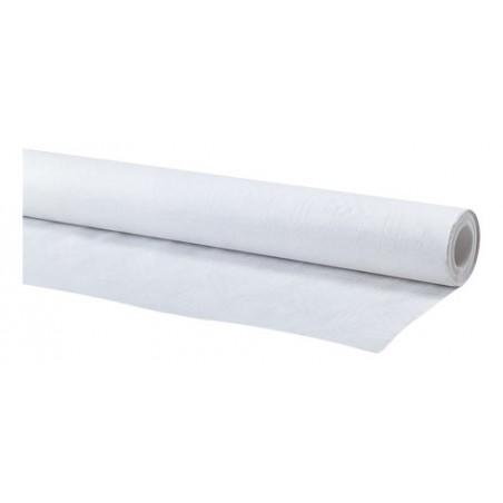 Rouleau nappe papier blanc 1,20x100m