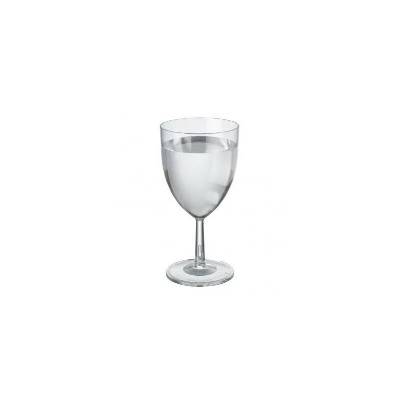 Verre à vin en plastique rigide de 20cl