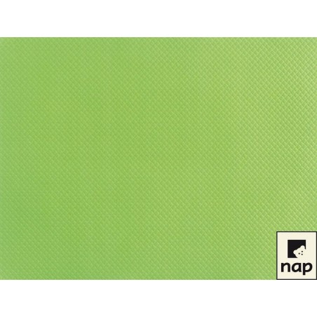 Set de table papier vert anis par 500