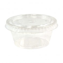 Pot en sauce en plastique 6cl par 100