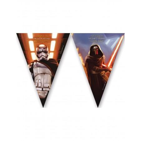 Guirlande fanion 2,30m Star Wars