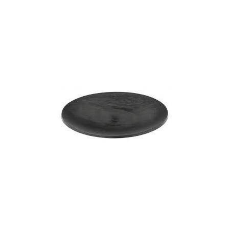 Coupelle ronde plastique ardoise 65mm Textura par 10