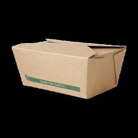 Barquette carton refermable 1900ml par 50