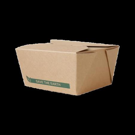 Barquette carton refermable 900ml par 50