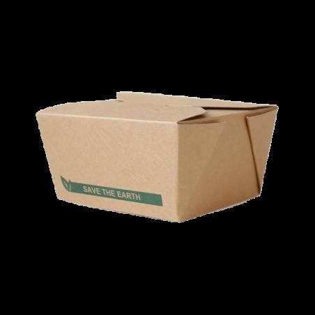 Barquette carton refermable 750ml par 50