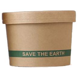 Pot à soupe en carton 250ml...
