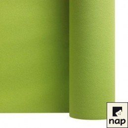 Chemin de table de 24m vert anis