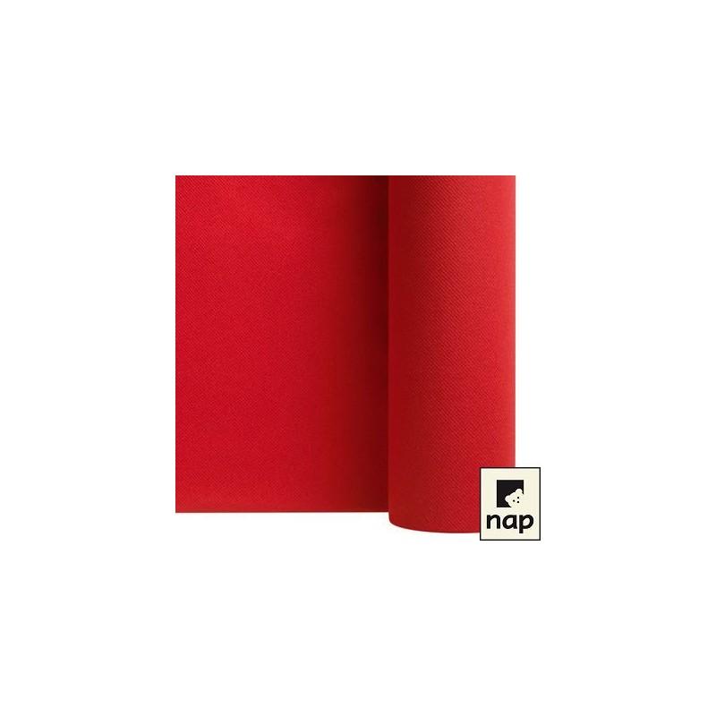 Chemin de table de 24m rouge