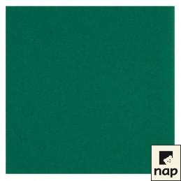 Serviette jetable celisoft 40x40cm vert sapin