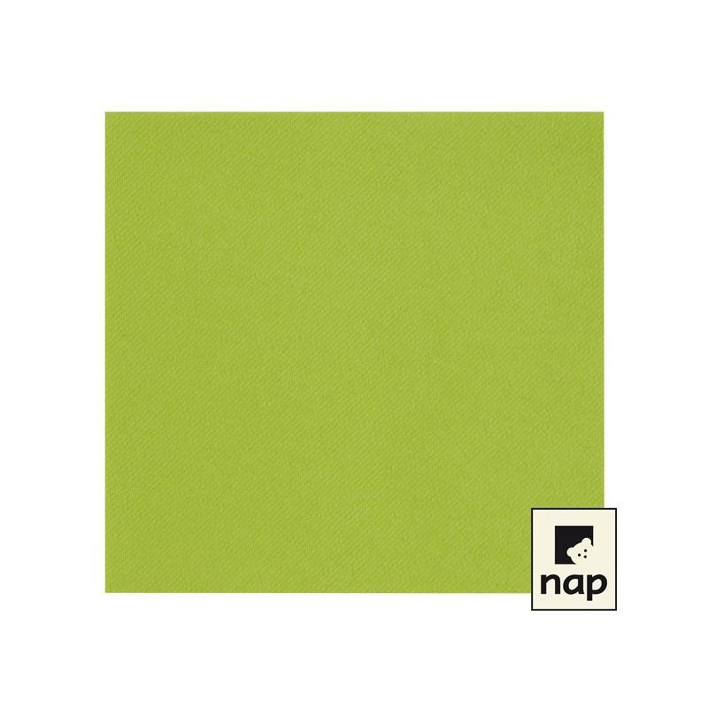 Serviette jetable celisoft 40x40cm chartreuse