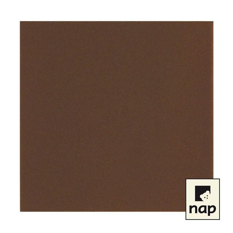 Serviette jetable celisoft 40x40cm chocolat