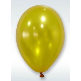 Ballons nacrés or