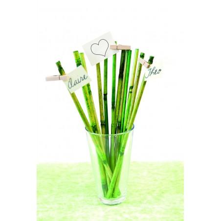 Décoration tige en bambou
