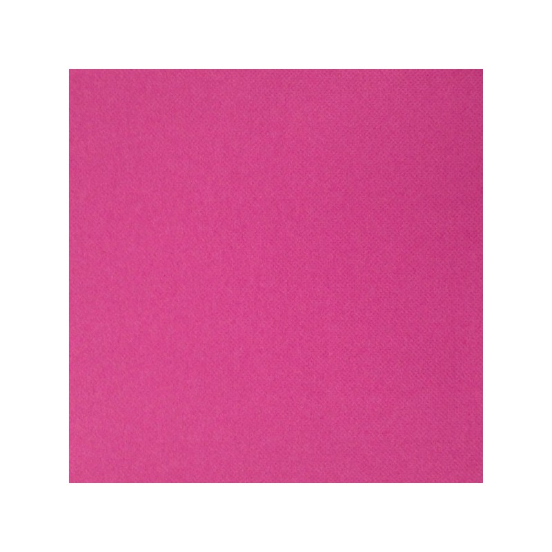Serviette jetable double pointe 38cm par 40 rose