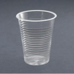 Gobelet plastique transparent 20cl par 100
