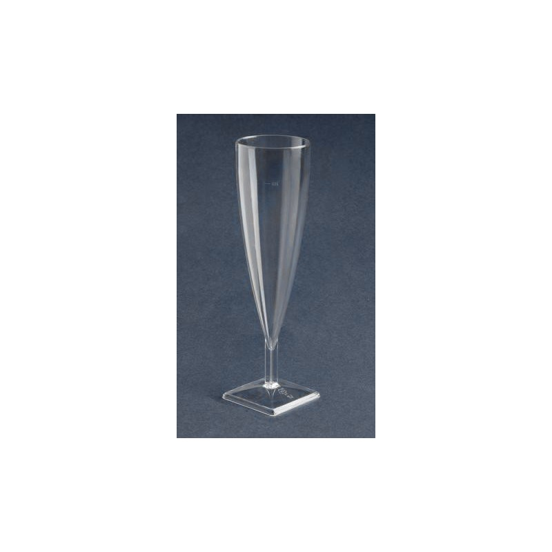 Flûte à Champagne en plastique par 6