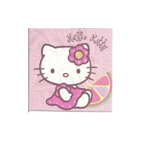 Serviette en papier Hello Kitty par 20