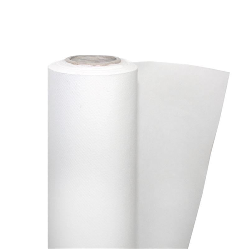 Nappe papier intissé blanc 25x1,20m