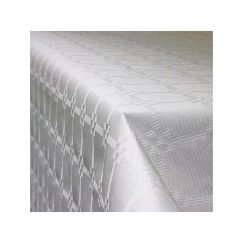 Rouleau nappe papier Argent de 6x1,2m