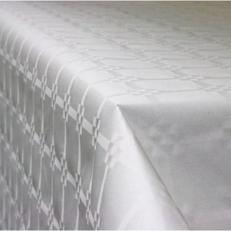 Rouleau nappe papier Argent 1,20x5m par lot de 2 rouleaux
