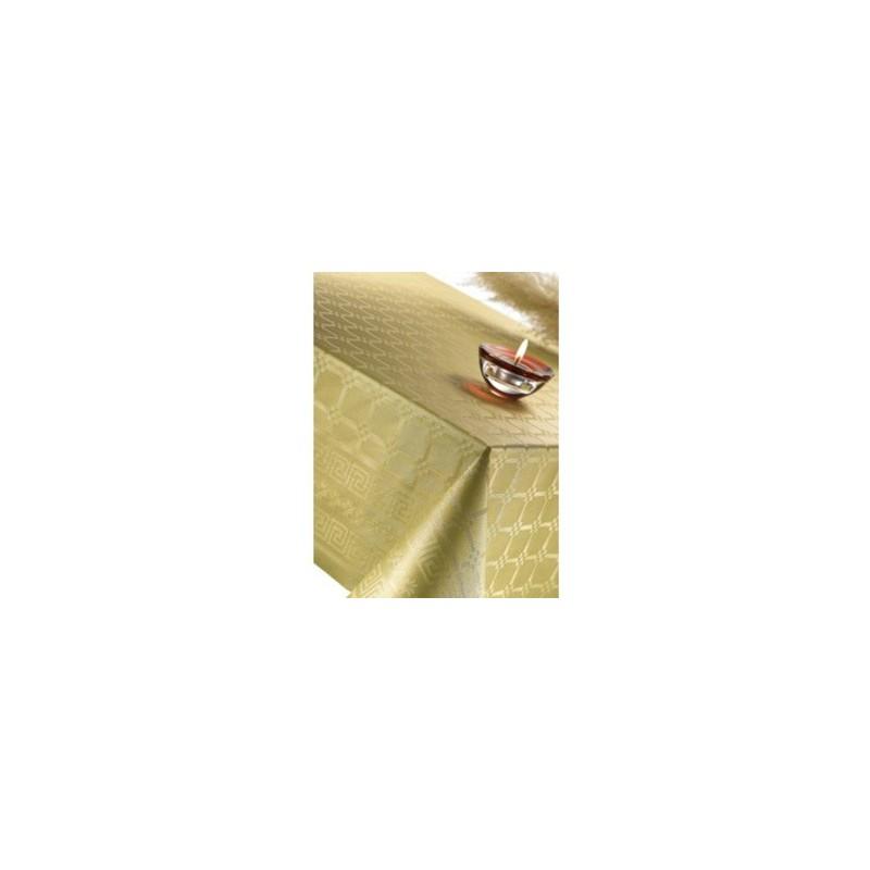 Rouleau nappe jetable Or de 6x1,2m