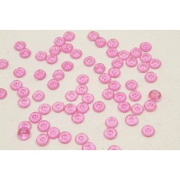 Perle de pluie de décoration fuschia