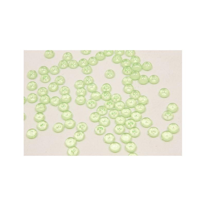 Perle de pluie de décoration vert anis