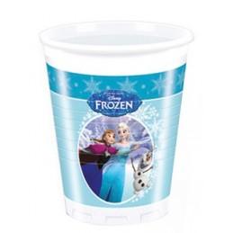 Gobelet plastique 20cl Reine des Neiges par 8