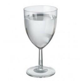 Verre à vin plastique rigide 22cl par 6