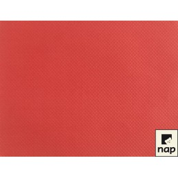 Set de table papier rouge par 10