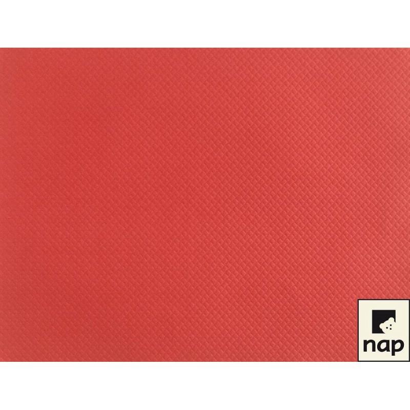 Set de table papier rouge par 10