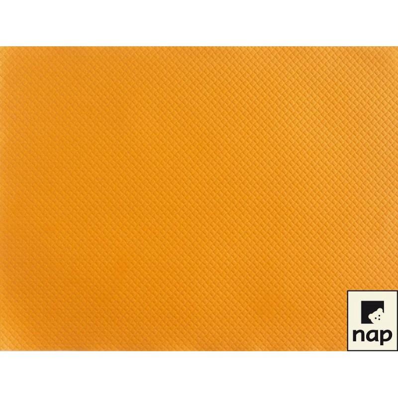 Set de table jetable orange par 10