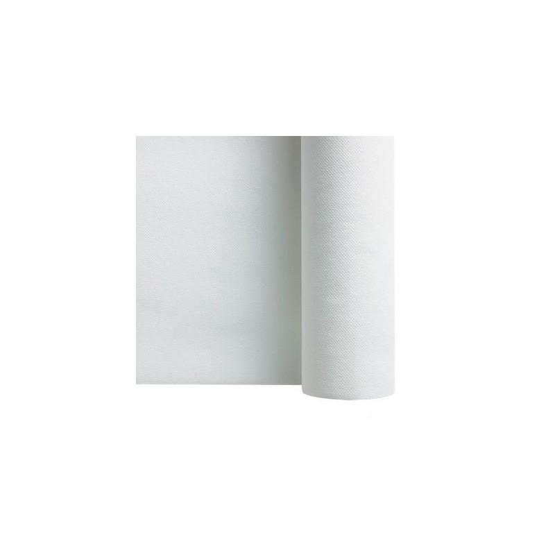 Chemin de table papier intissé blanc 0,30x24m
