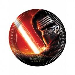 Assiette carton Star Wars 23cm par 8