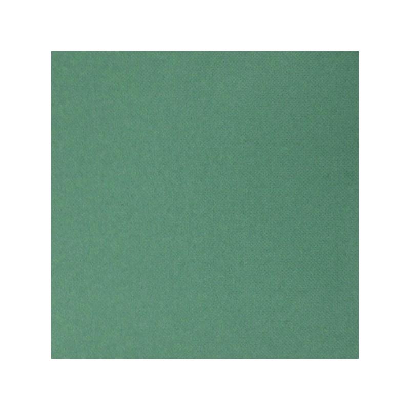 Serviette jetable micropointe 38x38cm vert sapin par 40