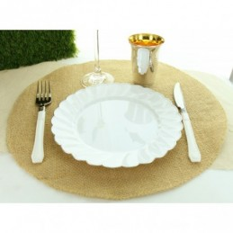 Set de table rond en jute...