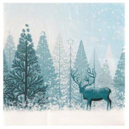 Serviette Forêt d'hiver...