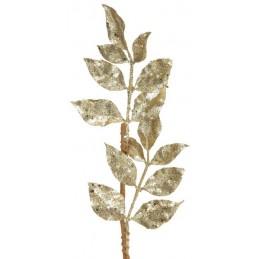 Branche pailletée Or 13x80cm