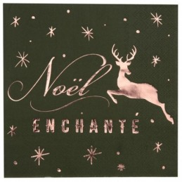 Serviette Noël enchanté...