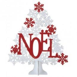 Décoration Sapin Noël rouge...