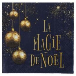 Serviette La Magie de Noël...