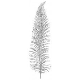 Plume métal Argent 12,5x48cm